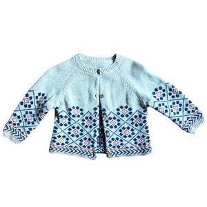 Marks & Spencer | Gray Knit Cardigan (9-12 mos)